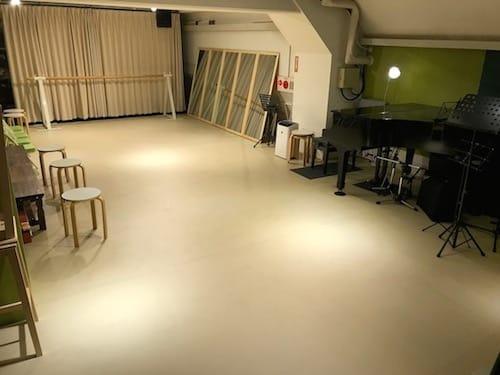 学園坂・Aスタジオ風景